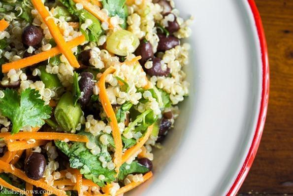 Puy lentil sprouts recipe : sweet potato and mixed greens