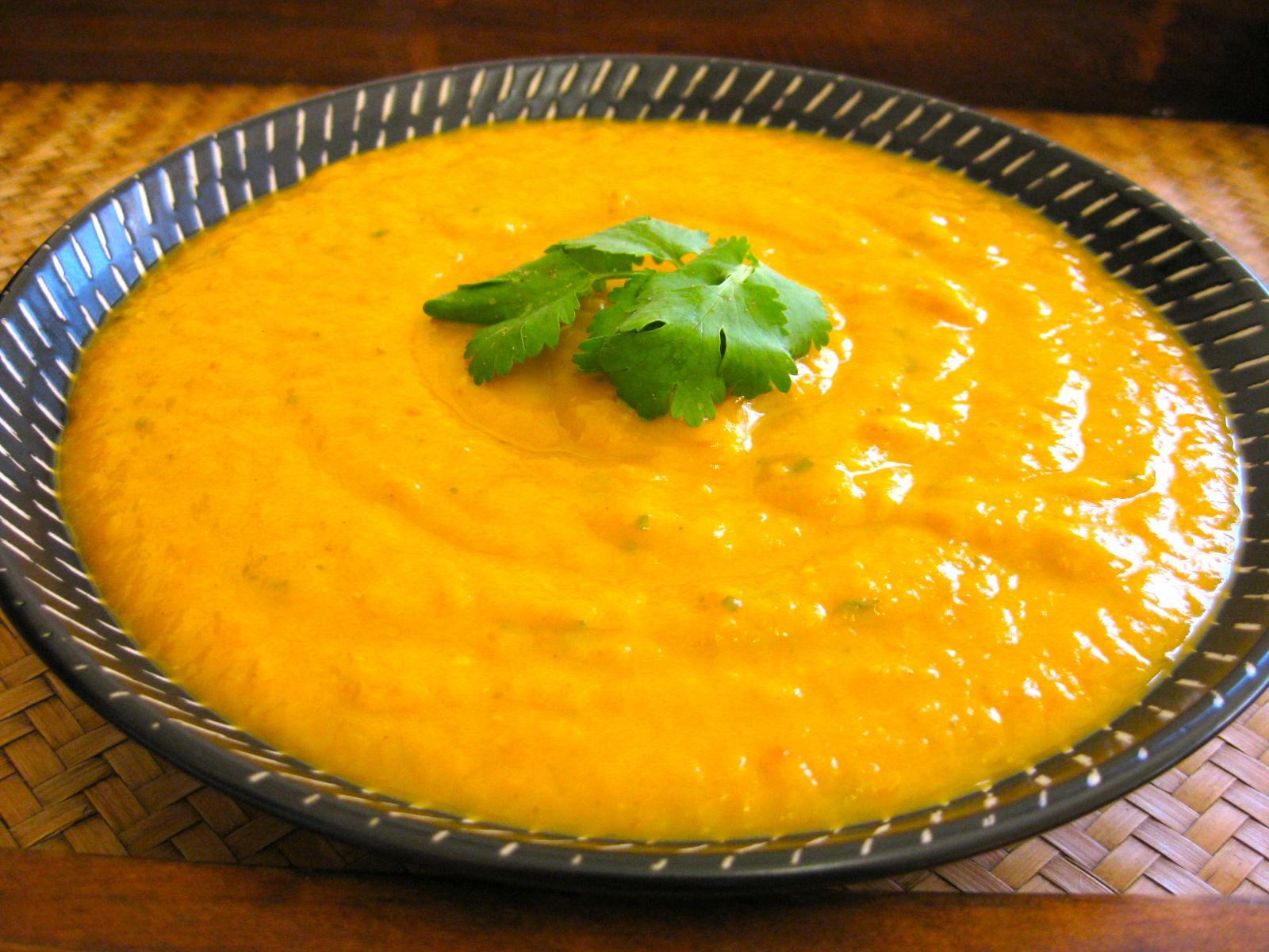 Sweet potato lentil soup recipe