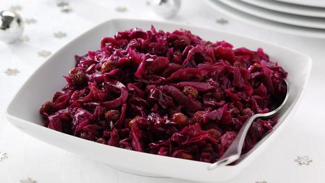 Christmas red cabbage recipe
