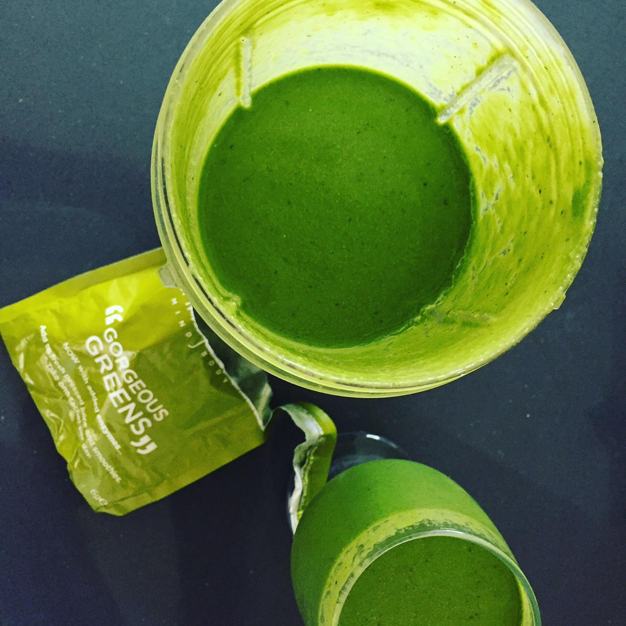 CJMB's Gorgeous Greens Superfood Smoothie